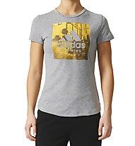 Adidas Category TR W - T-Shirt - Damen, Grey