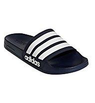 adidas Cf Adilette - Badeschlappen - Herren, Dark Blue/White
