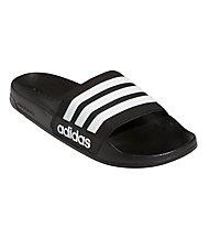 adidas Cf Adilette - Badeschlappen - Herren, Black/White