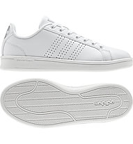 adidas Advantage Clean - Sneaker - Damen, White