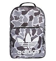 adidas Originals Classic Backpack Camo - Daypack, Grey/Black