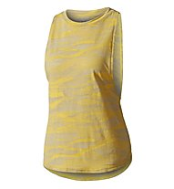 Adidas Climacool Aeroknit Deep Armhole - Top - Damen, Yellow
