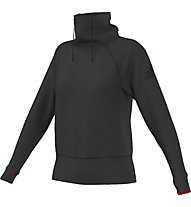 Adidas Climaheat Sweater Donna, Dark Grey Mel