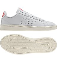 Adidas Neo Cloudfoam Advantage Clean W - Sneaker Damen, White