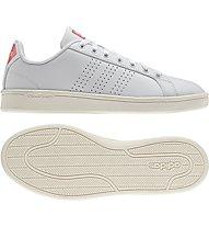 Adidas Neo Cloudfoam Advantage Clean W - Sneaker Damen, White