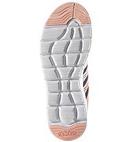 Adidas Cloudfoam Groove W Scarpa Donna, Black/Orange