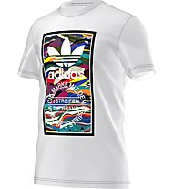 Adidas Originals Color Pattern T Herren T-Shirt Fitness Kurzarm, White