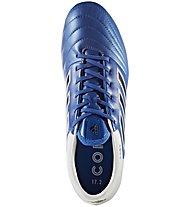 Adidas Copa 17.2 FG - Fußballschuh für festen Boden, White/Blue