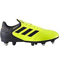 Adidas Copa 17.2 SG - Fußballschuhe weicher Boden, Yellow/Black