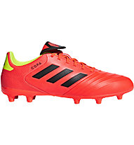 Adidas Copa 18.3 FG - scarpe da calcio per terreni compatti, Red/Yellow