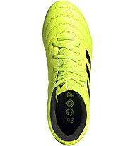 adidas Copa 19.3 FG Jr - scarpe da calcio terreni compatti, Yellow/Black