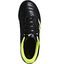 adidas Copa 19.4 TF Junior - scarpe da calcio terreni duri - bambino, Black/Yellow