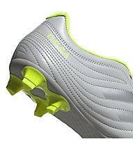 adidas Copa 20.4 FG - Fußballschuhe Rasenplätze, Grey/Silver/Yellow