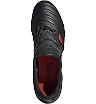 adidas Copa Gloro 19.2 FG - Fußballschuhe fester Boden, Black/Red/Silver