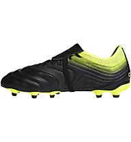 adidas Copa Gloro 19.2 FG - Fußballschuh kompakte Rasenplätze, Black/Yellow