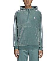 adidas Originals Cozy Halfzip - Kapuzenpullover - Herren, Green