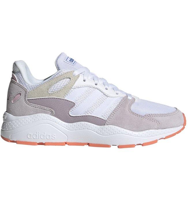 adidas Crazychaos - Sneaker - Damen, White/Rose/Orange