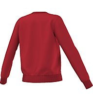Adidas Originals Crew Sweater Felpa fitness donna, Red