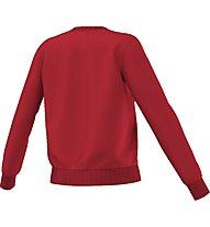 Adidas Originals Crew Sweater - felpa fitness - donna, Red