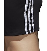 adidas Originals Crop - top fitness - donna, Black
