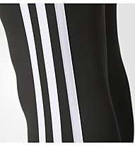 Adidas D2M 3S Longtigh - Trainingshose - Damen, Black