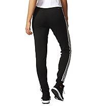 Adidas D2M Cuff PT 3-Stripes - Trainingshose - Damen, Black
