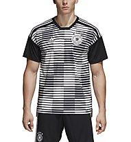 adidas DFB Deutschland Prematch 2018 - Fußballtrikot, Black/White