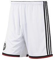 Adidas Dfb H Sho pantaloncini Mondiali., White/Black/Victory Red/M.Silver