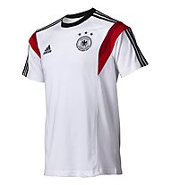 Adidas Deutschland Trainingstrikot, White/Black