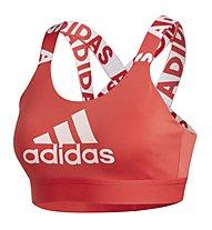 adidas Dont Rest Branded - Sport BH mittlerer Halt, Red
