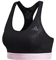 adidas Don't Rest Alphaskin Sport - Sport BH - Damen, Black