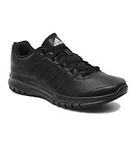 Adidas Duramo 6 Leather - Runningschuhe - Herren, Black