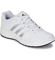 Adidas Duramo 6 Leather - Runningschuhe - Herren, White