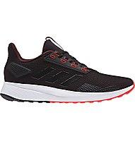 adidas Duramo 9 - scarpe jogging - uomo, Black/Red