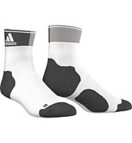 Adidas Energy Ankle Thin Cushioned - Laufsocken für Damen, White/Dark Grey