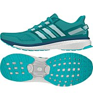 Adidas Energy Boost 3 scarpa running donna, Shock green/White