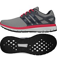 Adidas Energy Cloud - Herrenlaufschuhe, Grey/Red