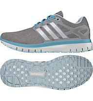 Adidas Energy Cloud W scarpa running donna, Grey/Turquoise