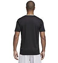 adidas Entrada 18 Jersey - Fußballtrikot - Herren, Black/White
