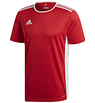 adidas Entrada 18 Jersey - Fußballtrikot - Herren, Red/White