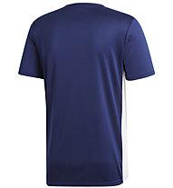 adidas Entrada 18 Jersey - Fußballtrikot - Herren, Dark Blue/White