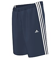 Adidas ESS 3S pantaloncini da ginnastica, Collegiate Navy/White