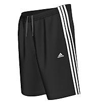 Adidas ESS 3S pantaloncini da ginnastica, Black/White
