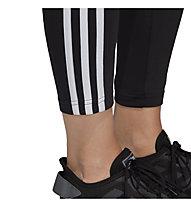 adidas Essential 3S - Lange Sporthose - Damen, Black/White