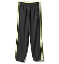 Adidas Essential 3S Pant Fleece, Grey Heather/Solar Yellow