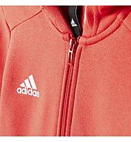 Adidas Essentials 3-Stripes - Fitness-Pullover - Mädchen, Red