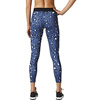 Adidas Essentials All Over Printed Tight - Fitnesshose - Damen, Blue/ Print