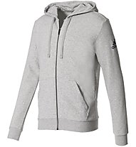 Adidas Essentials Base Fleece Hoodie - Kapuzenjacke - Herren, Grey