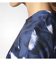 Adidas Essentials Tee AOP - Fitnessshirt - Damen, Blue/Print