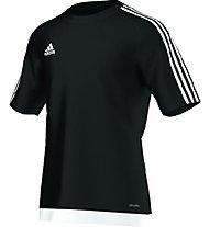 Adidas Estro 15 Jersey Shirt, Black/White